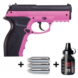 Kit Wildcat pistolet plombs BB + 3 sparclettes CO2 + 1500 billes acier HK