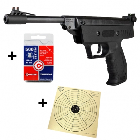 Pack pistolet Perfecta S3 + 500 plombs diabolo +100...