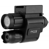 Combo laser point rouge et lampe RTI Optic