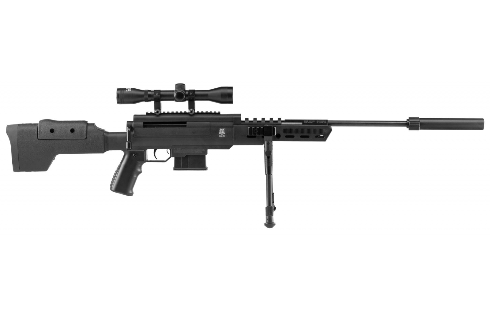 Pack Carabine Black OPS Sniper Tactical 4,5mm 20 Joules