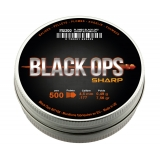 500 Plombs pointus BlackOPS Sharp 4,5mm