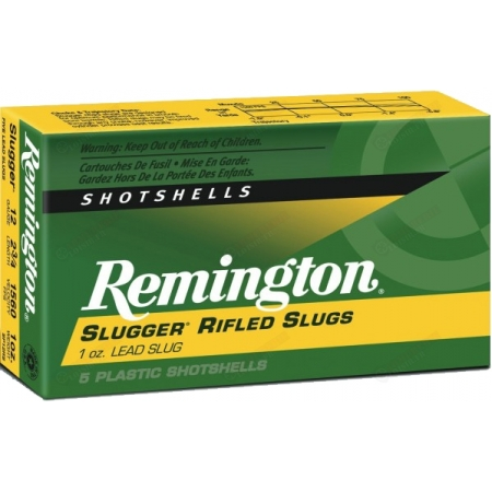 Remington Slugger Rifled Slug Shotshells 12/70 (x5)