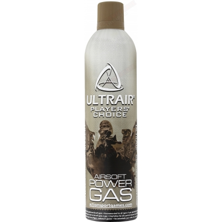 Bombe de gaz ASG Ultrair airsoft 570ml