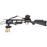 Pack Crosman Recurve XR175 Black + Point Rouge 1X40