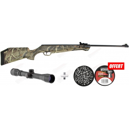 Pack Crosman Stealth shot (20 joules) + Lunette 4X32...