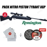 Pack carabine Remington Nitro piston Express Hunter  4.5mm (20 joules)
