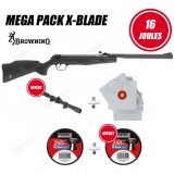 Méga Pack Browning X-Blade 16 joules 5.5mm