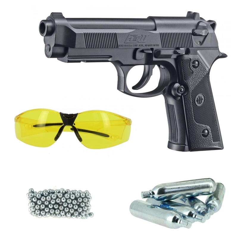 Pack Beretta 92 Elite II (2) CO2 BB Umarex (3 joules)