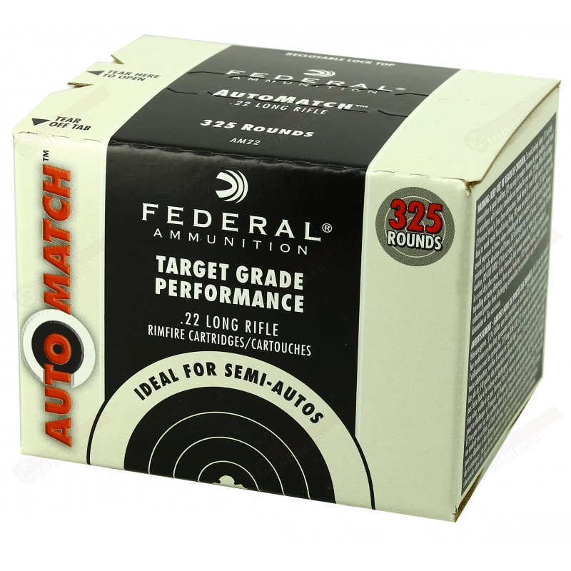 325 FEDERAL Target Grade Performance 22LR AM22