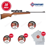 Pack Crosman Optimus Break Barrel 4.5mm (20 Joules)