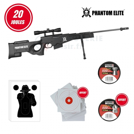 Pack Sniper Phantom Elite L115 B Nitro Piston (20...