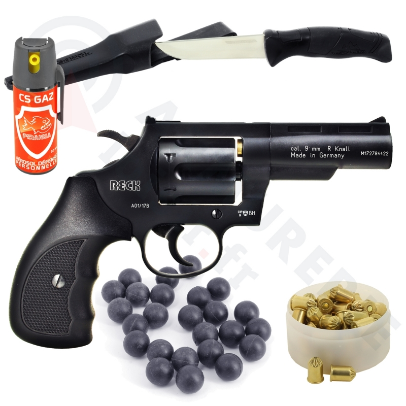 Pack Home Protect Revolver Reck King Cobra 9mm /  380 RK