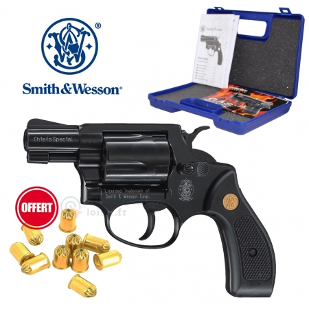 Pack Smith & Wesson Chiefs Special 380 RK noir