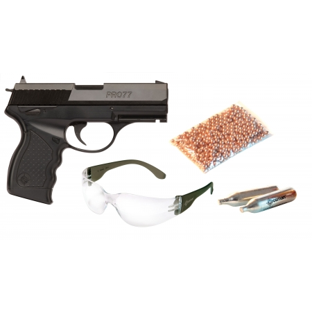 Destockage - Pack Pistolet Crossman Pro77 - 4.5mm