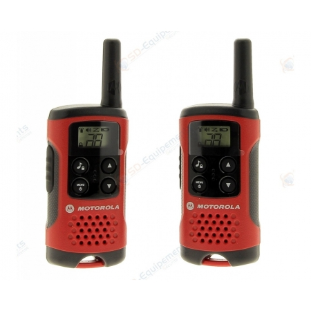 Destockage - Pack de 2 Radio Motorola TLKR T40