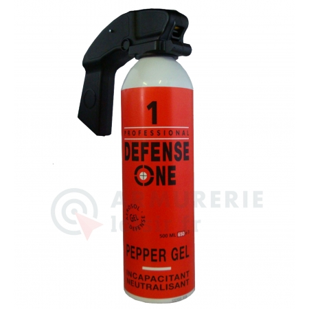 GK PRO Defense One - Gel poivre - 500 ml