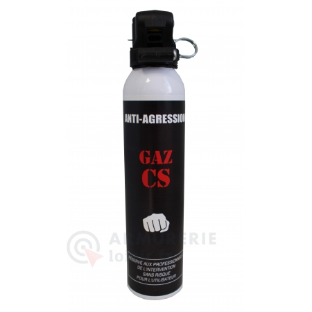 Destockage - Aérosol GAZ CS 300ml