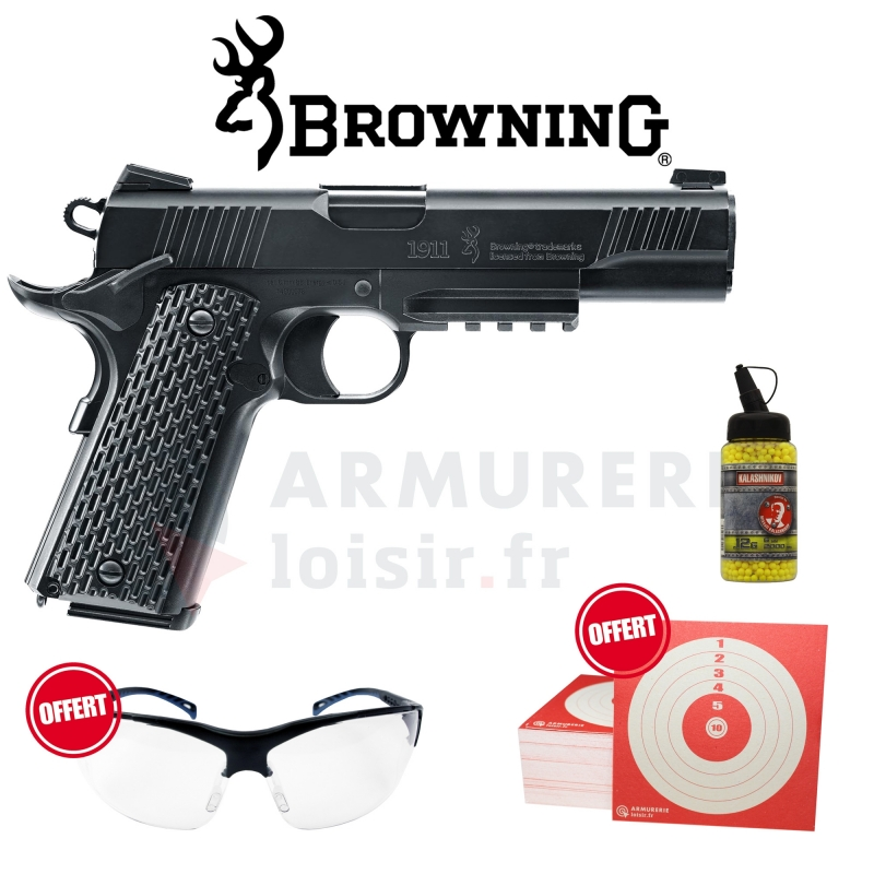 Airsoft Browning 1911 HME 6mm (0.5 joules)