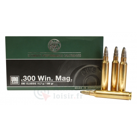 RWS Ultimate performance cartridges 300 Win. Mag.