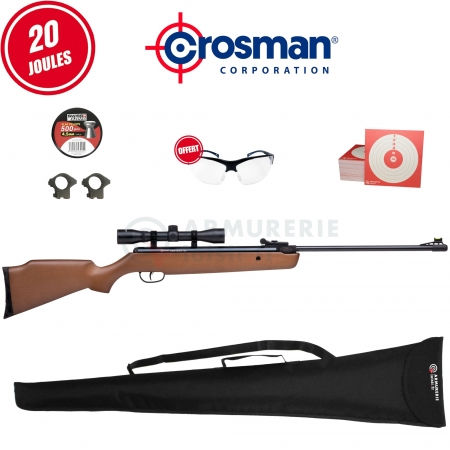 Pack Crosman Vantage NP - 4.5mm (20 joules)