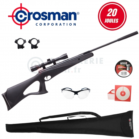 Pack air comprimé Titan NP Crosman 4.5mm (20 Joules)