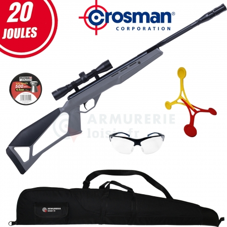 Pack carabine Crosman Incursion 4.5mm (20 Joules)