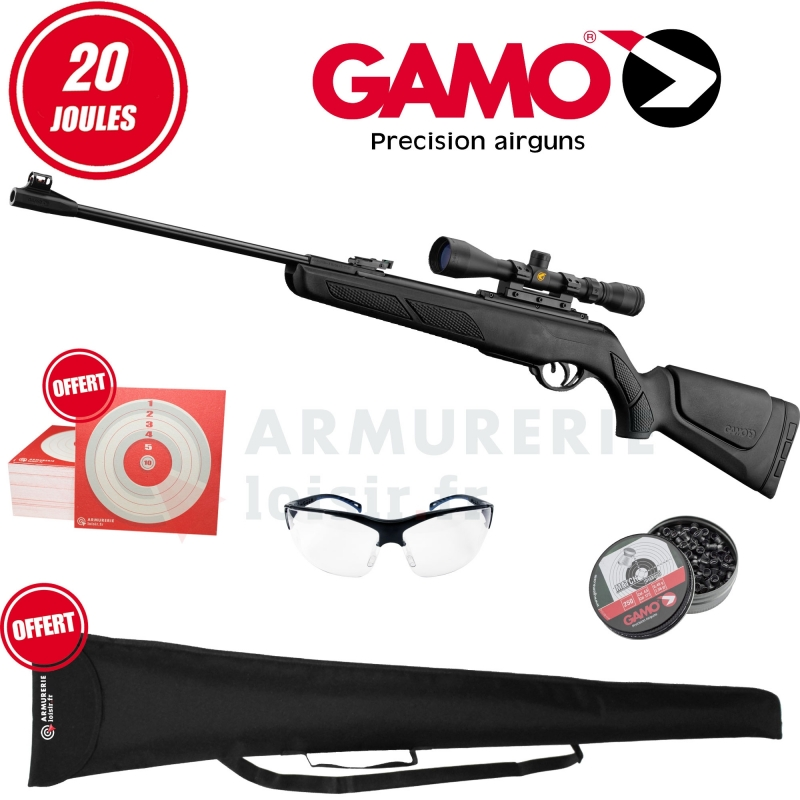 Pack Gamo Shadow 1000 Dx Combo 4.5mm (20 joules)