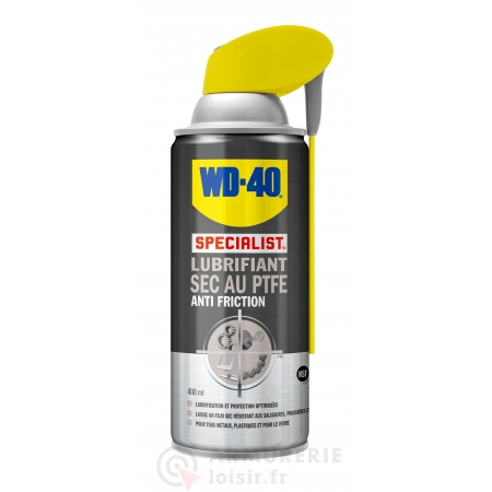 Lubrifiant sec au PTFE Anti friction WD-40 400ml