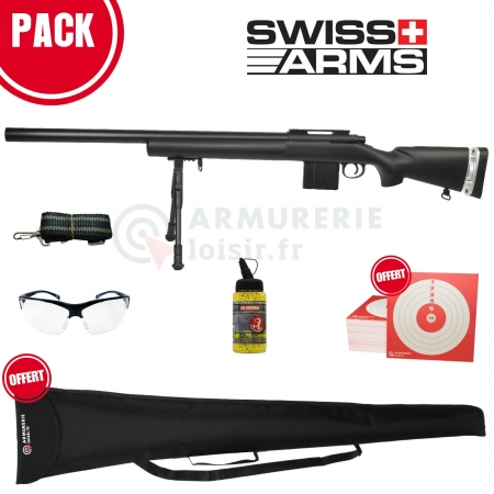 Fusil Sniper M24 SAS 04 Swiss Arms 6mm (1,9 Joules)