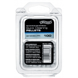 100 Tampons de nettoyage rapide plomb 4.5mm Walther