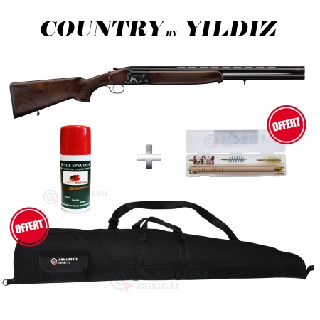 Fusil Bécassier superposé - Country MC271R - 12/76
