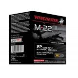 400 munitions Winchester M22 40 Grs, calibre .22 LR