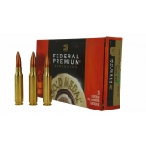 20 munitions Federal Gold Medal 168 gr. 308win