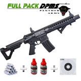 Pack Carabine Crosman DPMS SBR Full Auto 4.5 mm 3.5 Joules