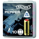 10 Munitions Walther Pepper 9mm PAK