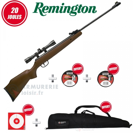 Pack Remington Express bois 4.5mm (20 joules)