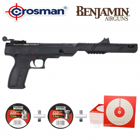 Pack pistolet Crosman Trail NP Mark II cal 4.5mm