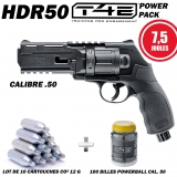 Pack Revolver Umarex T4E HDR 50 (7.5 joules)