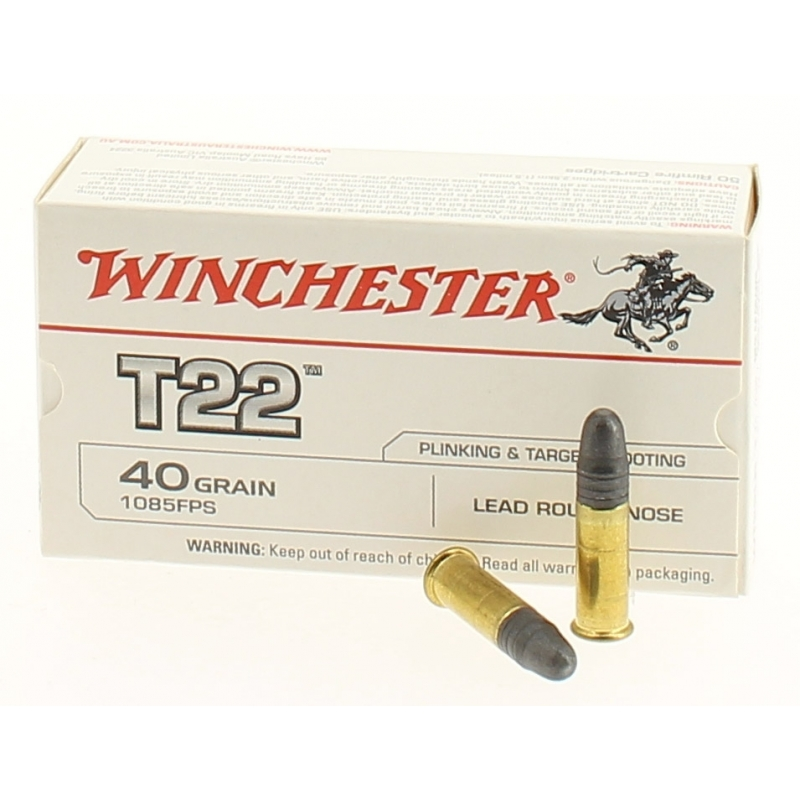 Cartouches T22 Winchester 22lr x50