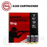 100 Munitions Geco  coated competition slug .12/67.5