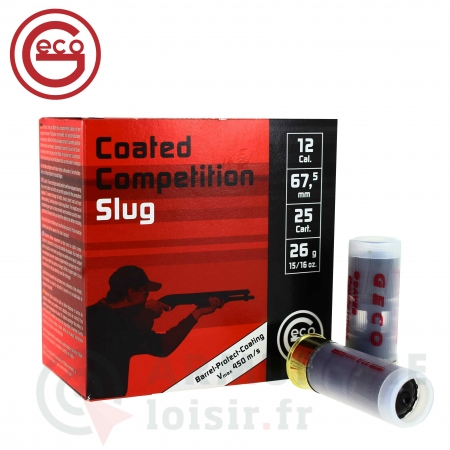25 Munitions Geco Coated Competition Slug 12/67.5