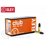 50 munitions Eley Club calibre .22 LR 40 Gr