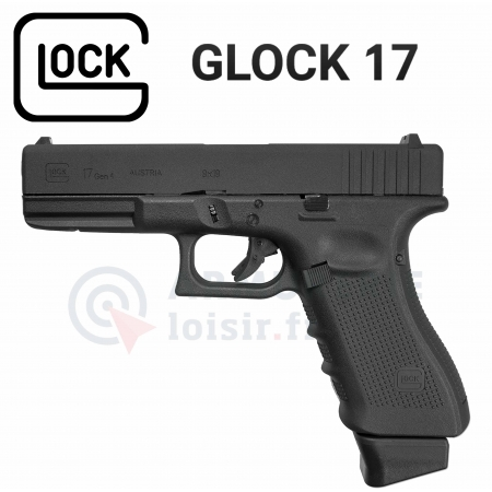 Pistolet Glock 17 (G17) CO2 Blowback GEN4 (1 joule)