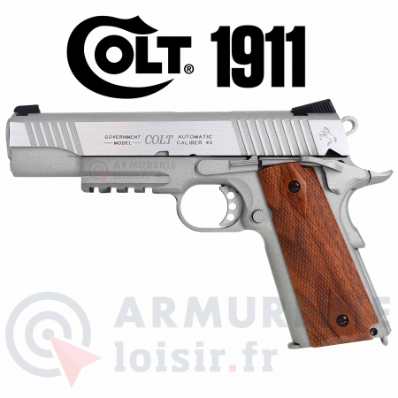 Colt 1911 Rail Gun 6 mm CO2 1.1 joules