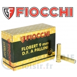 50 cartouches Fiocchi 9 mm Flobert plomb n°11