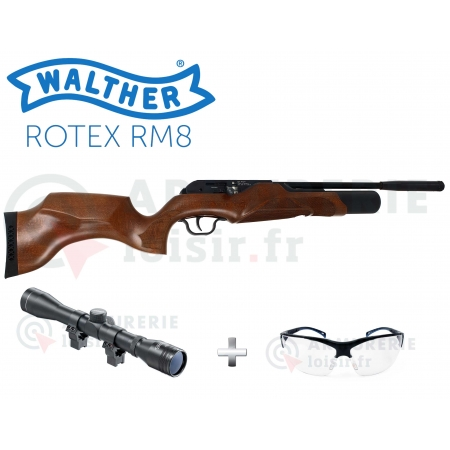 Pack Carabine Walther Rotex RM8 5.5 mm (30 joules)