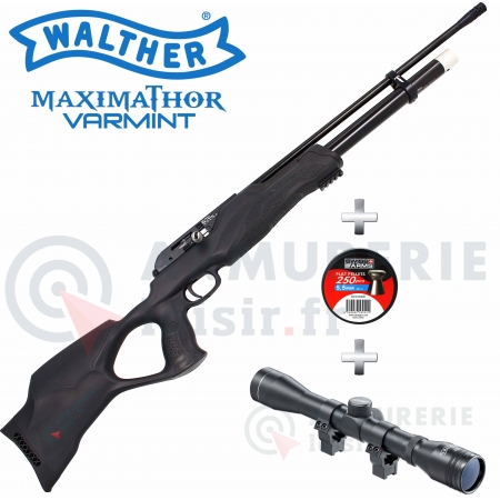 Pack Walther Maximathor Varmint 5.5 mm (60 joules)