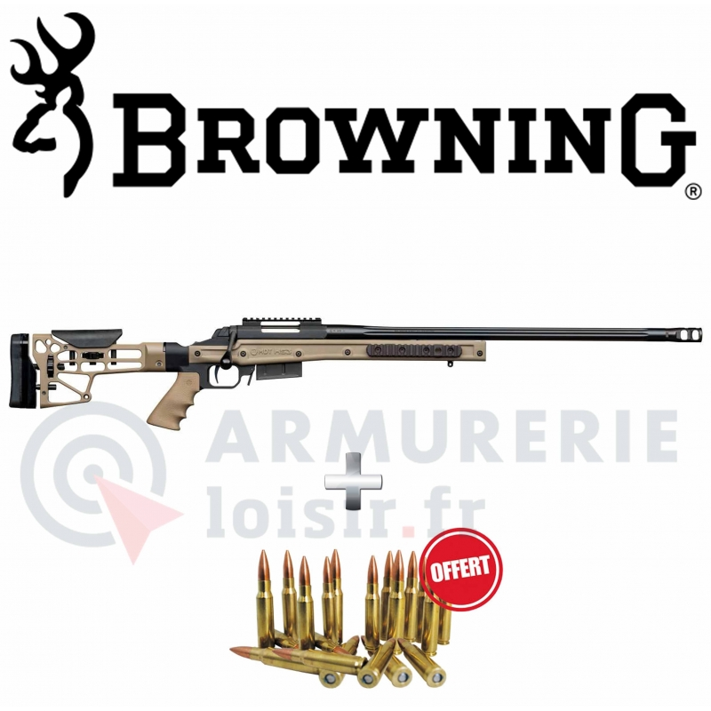 Carabine Browning X-Bolt SF Chassis HS3 FDE cal .308 WIN