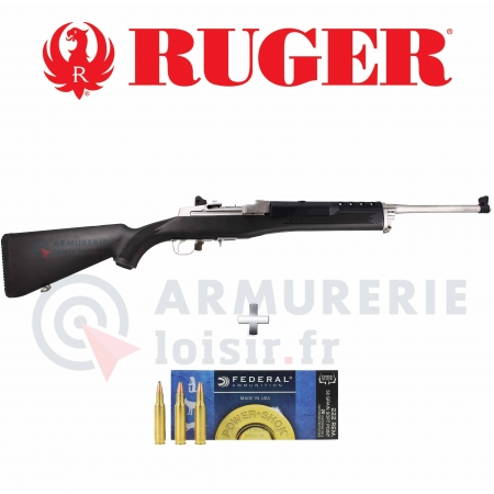 Carabine Ruger Mini-14 Ranch Rifle .222 REM