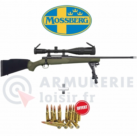 Pack Mossberg Patriot Night Train 2 Cal .308 w +...